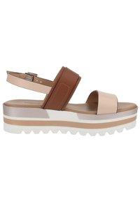 NeroGiardini - Platform sandals - cipria - 5