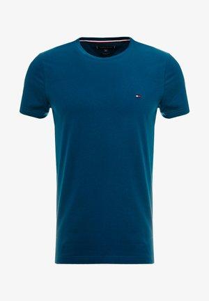 STRETCH TEE - T-shirt print - blue