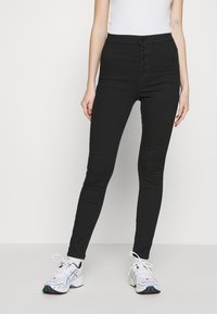 Vero Moda - VMJOY  - Skinny džíny - black denim - 0