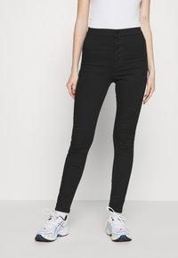 Vero Moda - VMJOY  - Jeans Skinny Fit - black denim - 0