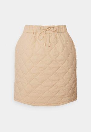 CATALINA SKIRT - Mini skirt - beige