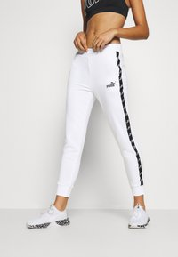 Puma - AMPLIFIED - Pantalones deportivos - white - 0