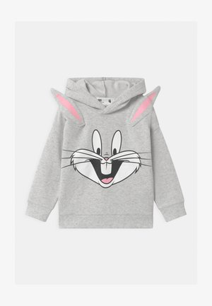 WARNER BROS BUGS BUNNY HOODIE - Sweat à capuche - summer grey