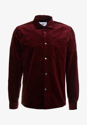 BASSO - Skjorta - burgundy red