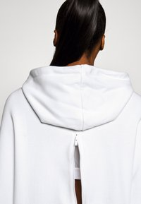 adidas Performance - HOODIE - Jersey con capucha - white - 4