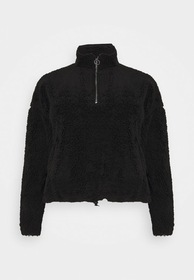 NMLEA TEDDY - Sweatshirt - black