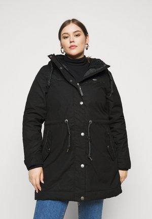 CANNY - Zimní kabát - black