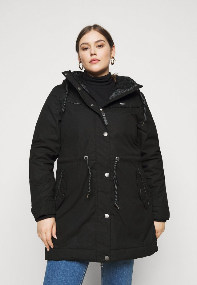 CANNY - Winter coat - black