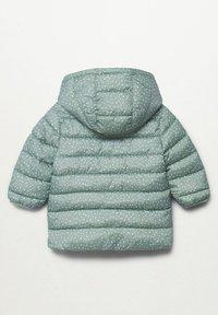 Mango - ANORAK - Winter coat - aqua green - 1