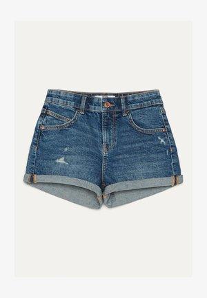 DENIM-SHORTS MIT SAUMAUFSCHLAG 02596211 - Szorty jeansowe - light blue