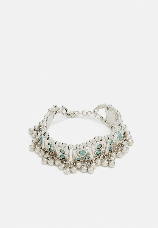MRS RANI - Bracciale - blue/silver-coloured