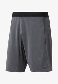 Reebok - ONE SERIES TRAINING KNIT SHORTS - Sports shorts - grey - 0