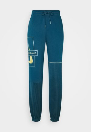 PANT - Tracksuit bottoms - valerian blue/deep ocean/metallic gold