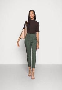 InWear - ZELLA SHAPE  - Trousers - green olive - 1