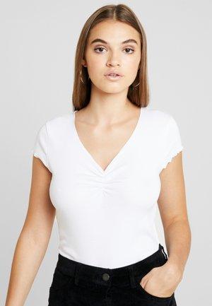 LETTUCE HEM - T-shirts med print - white