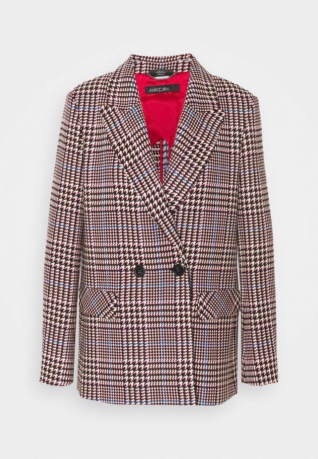 Pitkä takki - burgundy