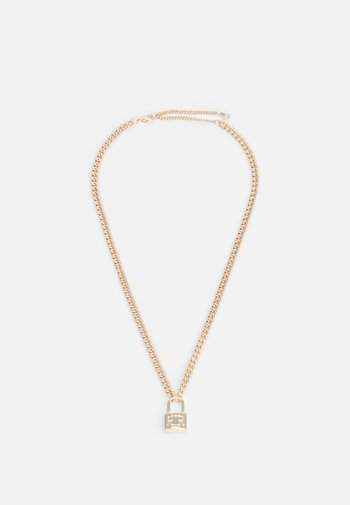 PADLOCK CHAIN - Necklace - gold-coloured