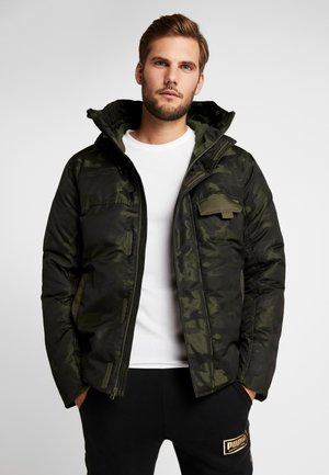 STREETSTYLE HOODED CAMO JACKET - Down jacket - forest night