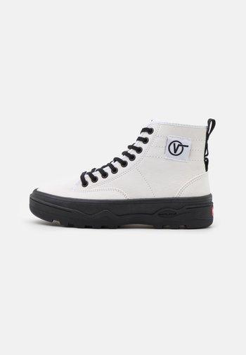 SENTRY  - Sneakers hoog - true white/black