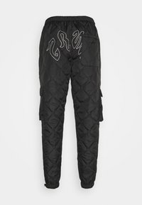 Grimey - FIRE PADDED PANTS - Trousers - black - 1