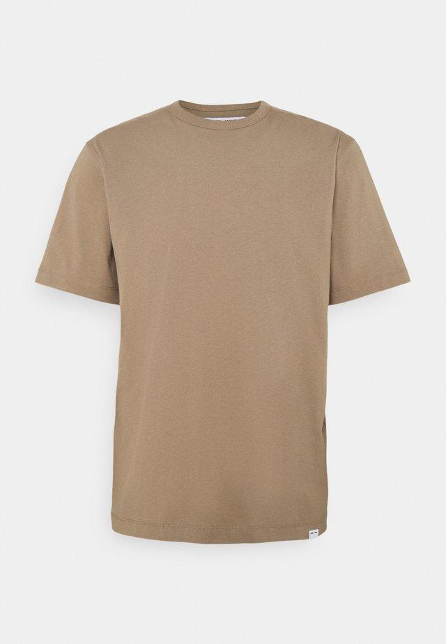 HUGO - T-shirt basic - caribou