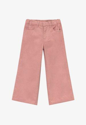OMILA  WIDE - Kalhoty - peachskin