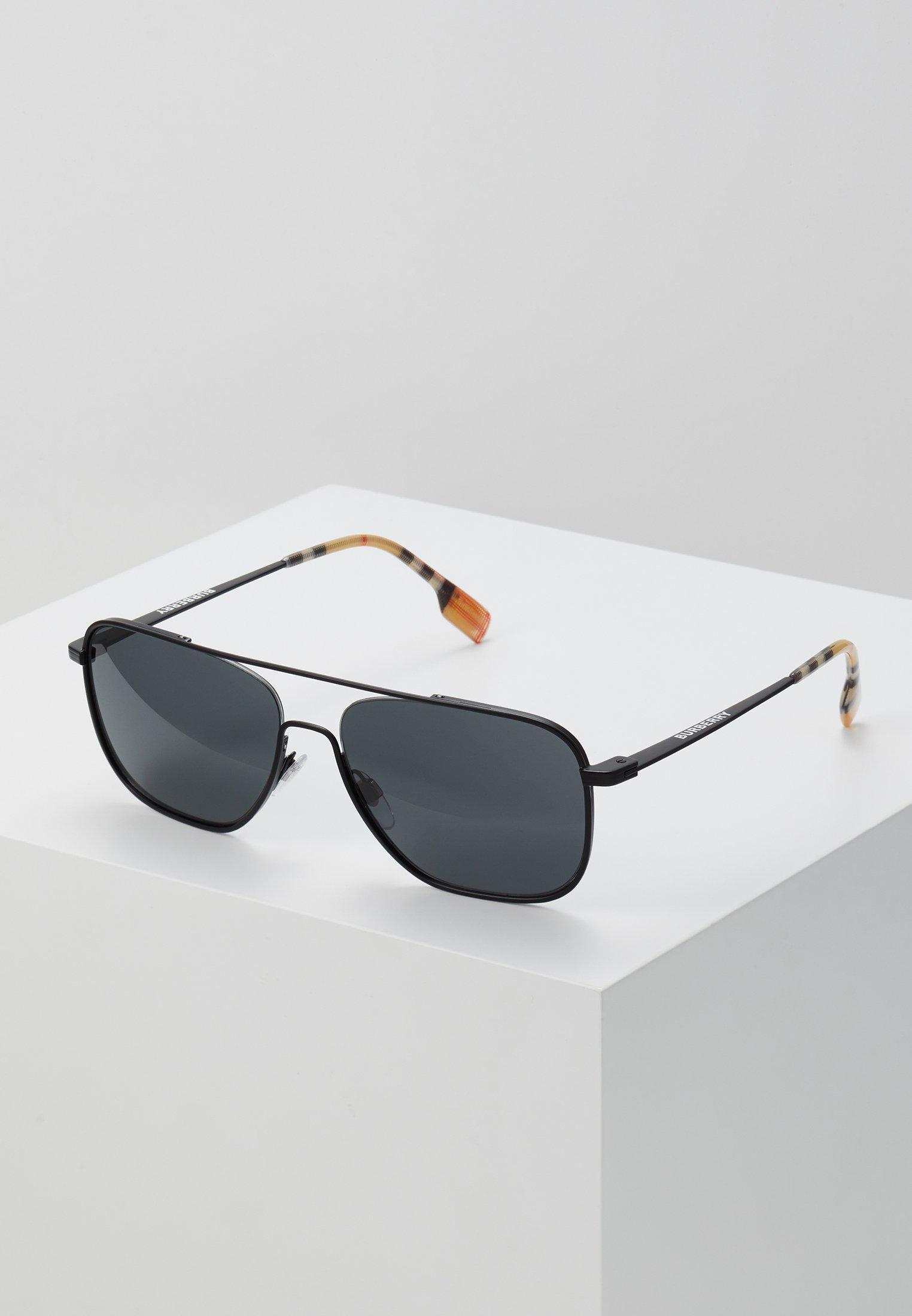 Nieuwe Stijlen Hot Koop Accessoires voor heren IHI564JFOIBurberry Zonnebril matte black BuIrjXt