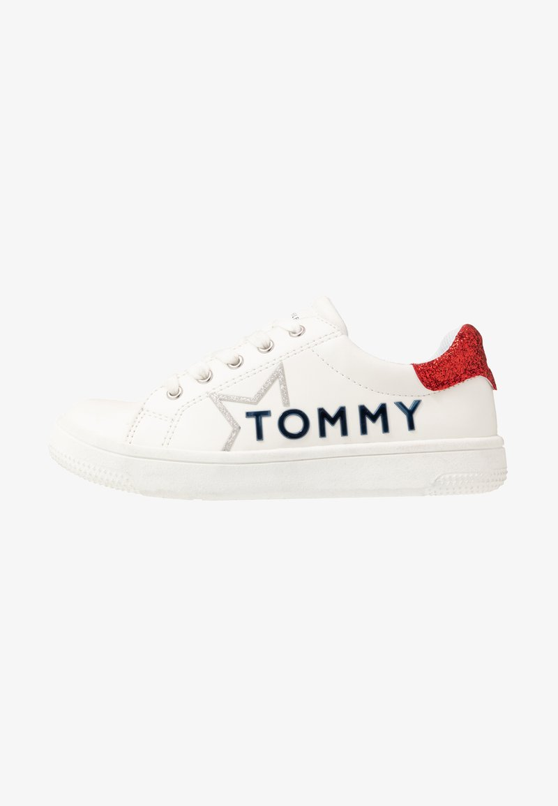 Tommy Hilfiger - Sneakers laag - white/red
