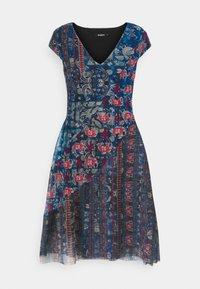 Desigual - Korte jurk - blue - 5