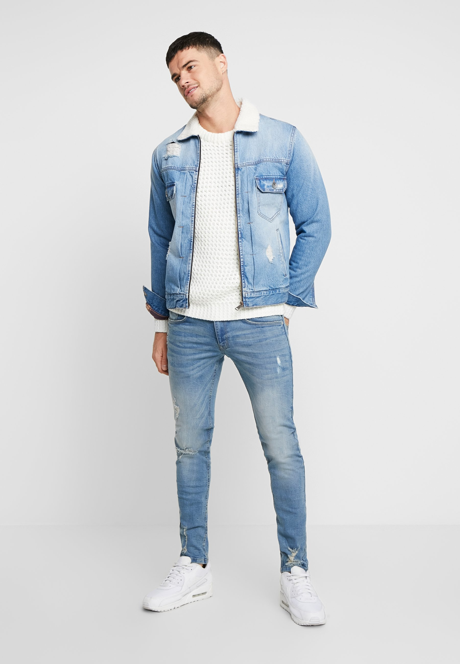 Redefined Rebel Dennis Jacket - Jeansjakke Light Blue/lyseblå Denim