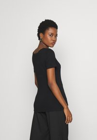 Anna Field - T-shirt - bas - black - 2