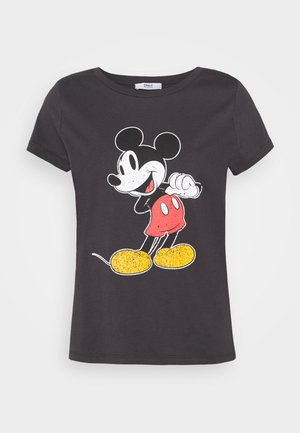 ONLMINNIE CLASSIC - Print T-shirt - black