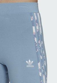adidas Originals - Leggings - Trousers - blue - 3