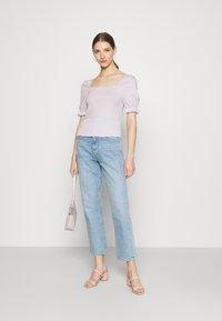 Even&Odd - Basic T-shirt - lilac - 1