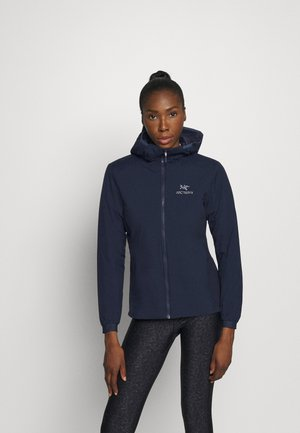 ATOM HOODY WOMENS - Outdoor jacket - kingfisher