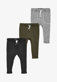 Next - 3PACK - Tracksuit bottoms - grey - 0