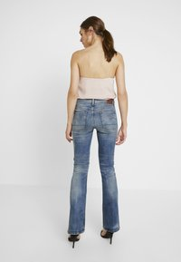 G-Star - 3301 HIGH FLARE - Flared Jeans - medium aged - 2