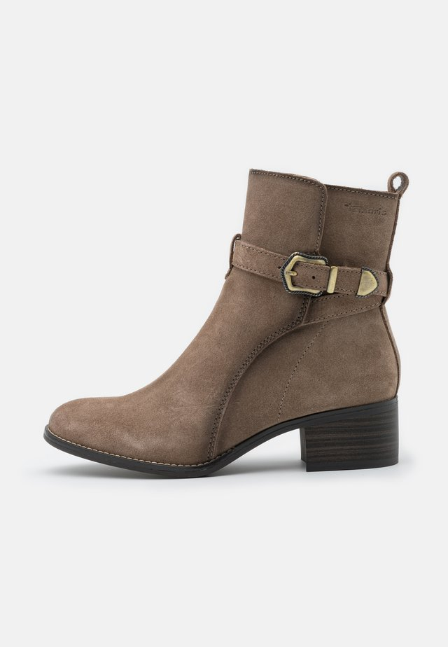 BOOTS - Bottines - taupe