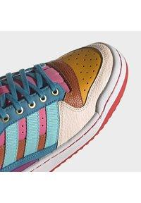 adidas Originals - FORUM MID ORIGINALS SNEAKERS SHOES - Zapatillas altas - pulse aqua/pink tint/sonic fuchsia - 8