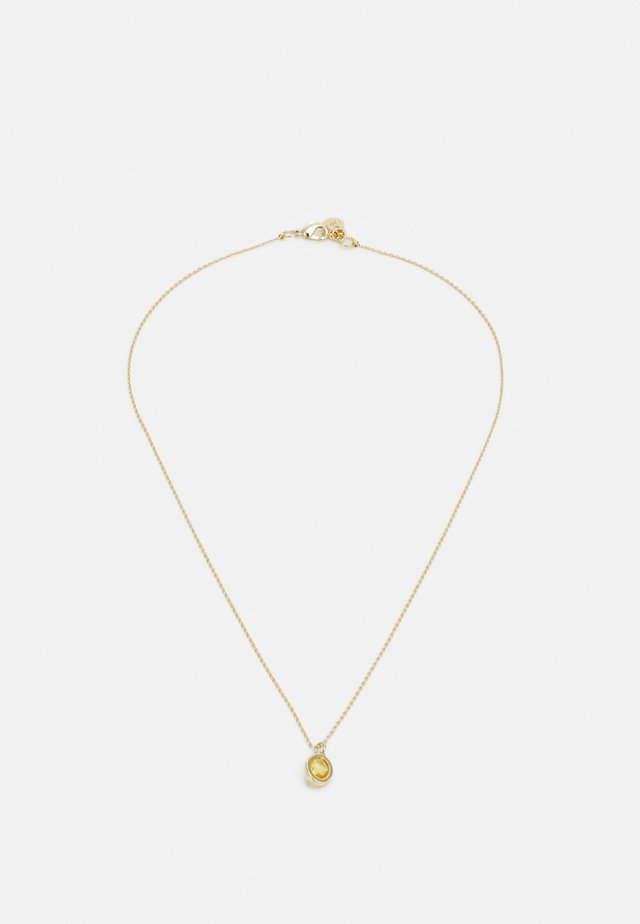TROY PENDANT NECK - Ketting - gold-coloured/yellow