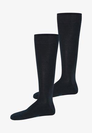 2 PACK - Knee high socks - nachtblau