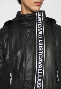 Just Cavalli - KABAN - Giacca invernale - black - 7
