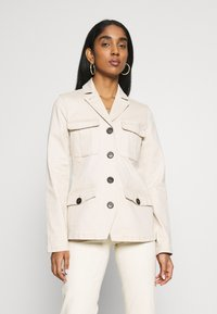b.young - BYBEA JACKET - Summer jacket - cement - 0