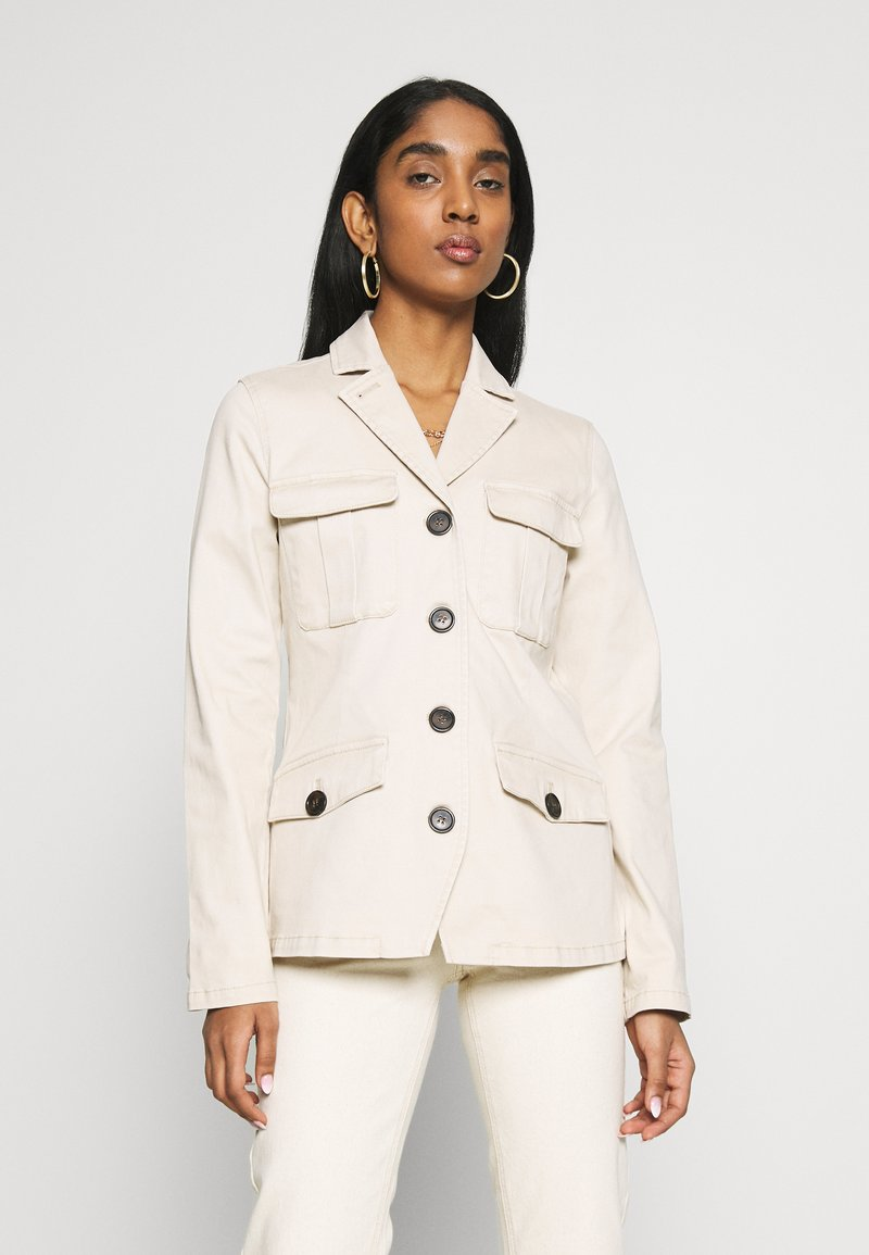 b.young - BYBEA JACKET - Summer jacket - cement