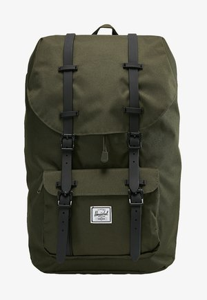 LITTLE AMERICA - Rucksack - forest night/black
