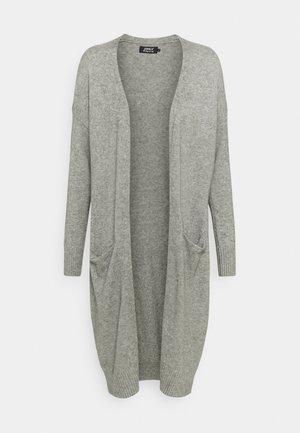 ONLTIGGI LONG CARDIGAN - Cardigan - medium grey melange