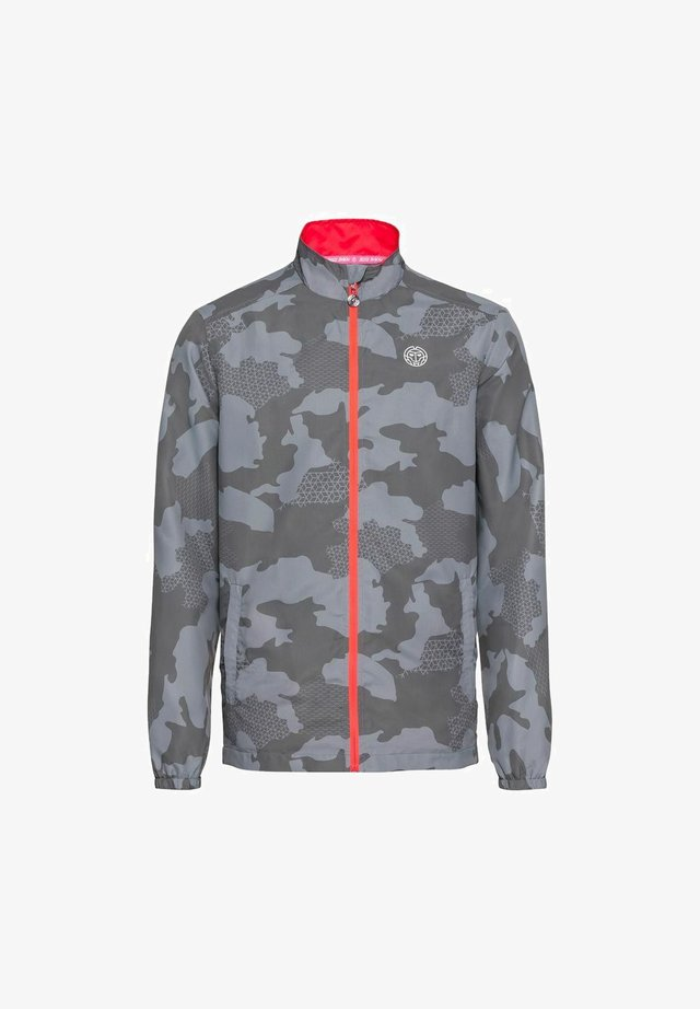 FINAN TECH  - Training jacket - grau/schwarz