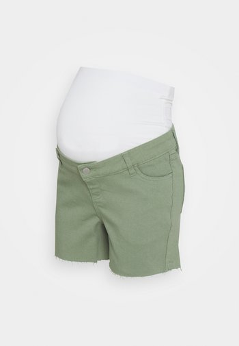 Jeans Short / cowboy shorts - khaki
