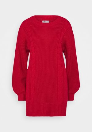 SWEATER DRESS - Jumper dress - jester red