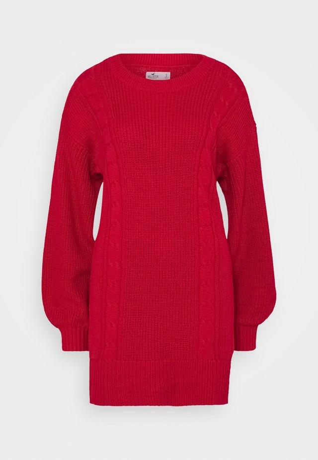 SWEATER DRESS - Jumper dress - jester red